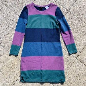 BODEN Jerseykleid in Blockstreifen Grösse 36