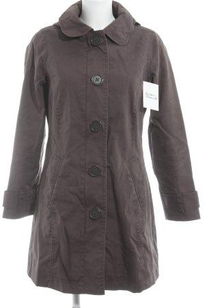 Boden Manteau à capuche gris brun style décontracté