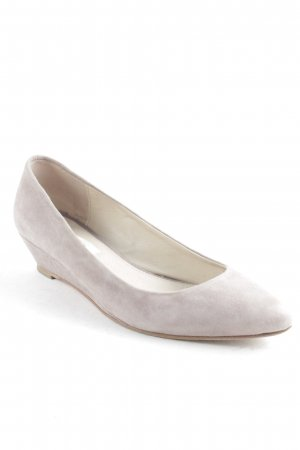 Boden Keil-Pumps beige Casual-Look