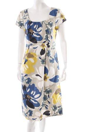 Boden Kleid Blumen-Muster