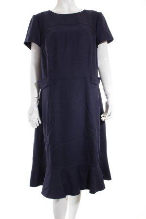Boden Kleid dunkelblau klassischer Stil
