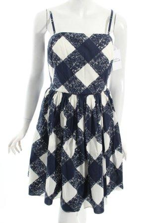 Boden Kleid dunkelblau-weiß