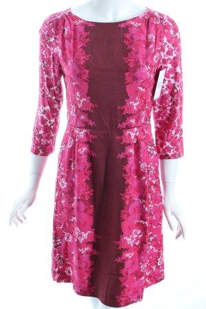 Boden Kleid florales Muster klassischer Stil