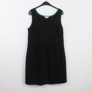 BODEN Kleid Gr. XL schwarz grüner Streifen (18/9/516)