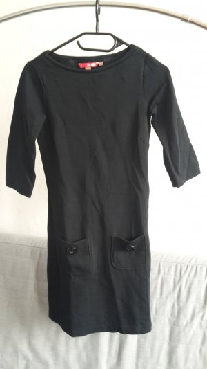 Boden Kleid stretch Gr. XS 34 UK 6R uni Basic Sommerkleid