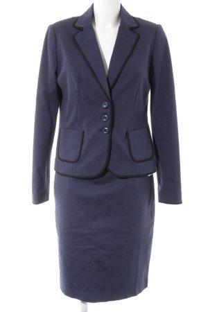 Boden Damespak donkerblauw-zwart zakelijke stijl