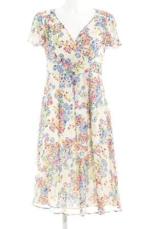Boden Kurzarmkleid florales Muster klassischer Stil