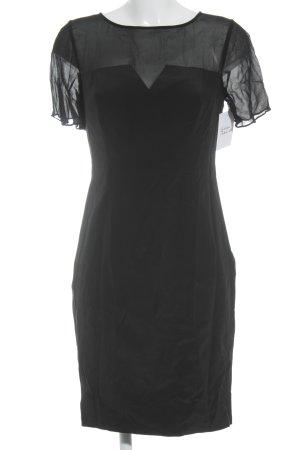 Boden Kurzarmkleid schwarz Elegant