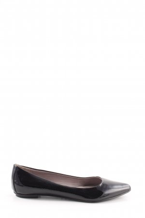 Boden Patent Leather Ballerinas black business style