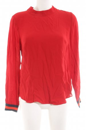 Boden Langarm-Bluse rot Business-Look