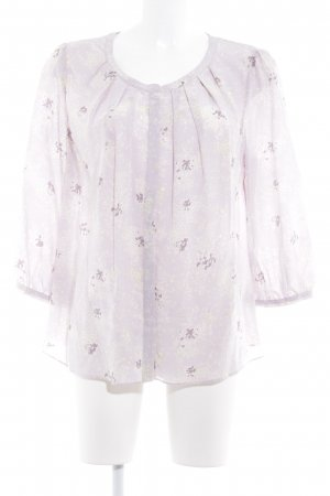 Boden Langarm-Bluse abstraktes Muster Casual-Look