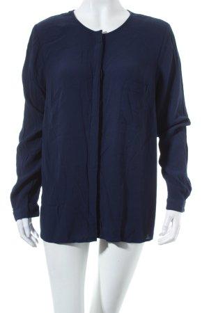 Boden Langarm-Bluse dunkelblau Casual-Look