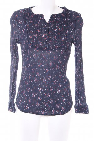 Boden Langarm-Bluse Farbtupfermuster Casual-Look