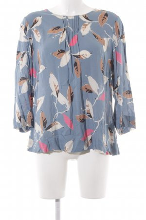 Boden Long Sleeve Blouse floral pattern casual look
