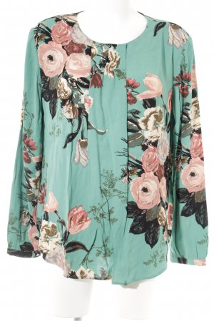 Boden Langarm-Bluse florales Muster Casual-Look