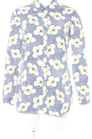 Boden Langarmhemd Blumenmuster extravaganter Stil
