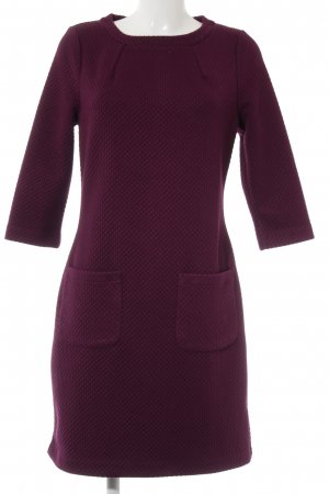 Boden Langarmkleid violett Business-Look