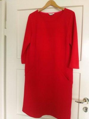 Boden Robe en laine rouge tissu mixte