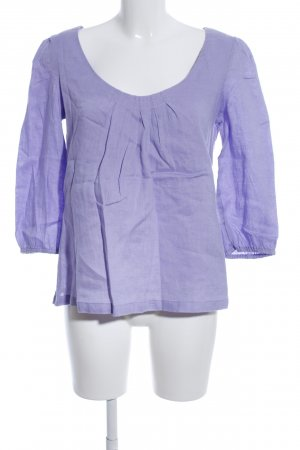 Boden Linen Blouse lilac casual look