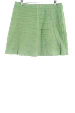 Boden Falda de lino verde hierba