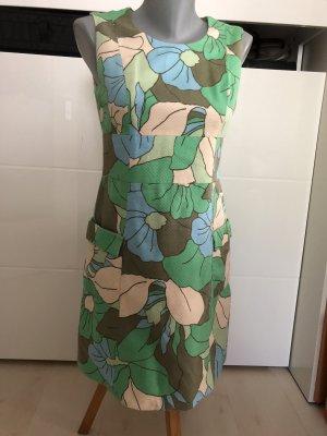 BODEN Midi-Kleid floral Gr.34/36 strukturiert