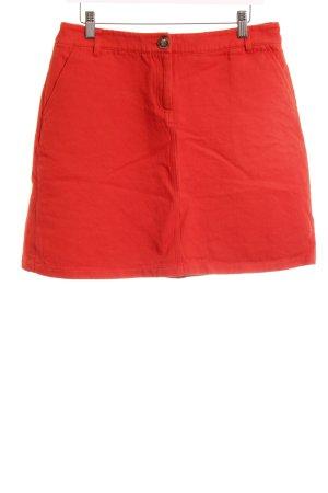 Boden Minirock rot-weiß Casual-Look