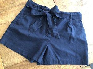 Boden High-Waist-Shorts dark blue