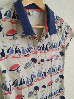 Boden Poloshirt mit bunten Sonnenschirmen Gr.36 s TOP ZUSTAND
