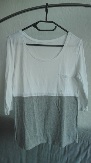 Boden Maglione oversize bianco-grigio Viscosa