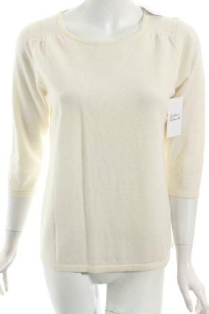 Boden Pullover wollweiß klassischer Stil
