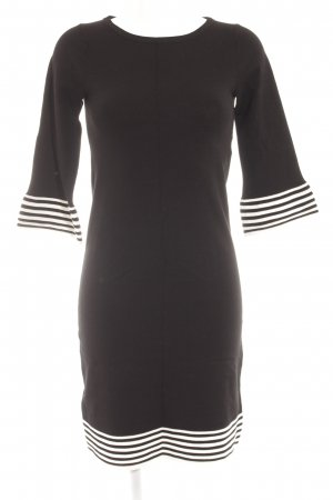 Boden Pulloverkleid schwarz-weiß Streifenmuster schlichter Stil