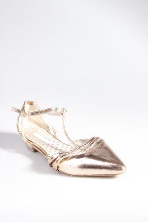 Boden Riemchen Ballerinas Rosé Gold