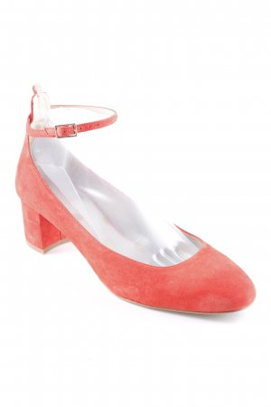 Boden Riemchen Ballerinas rot-nude 60ies-Stil