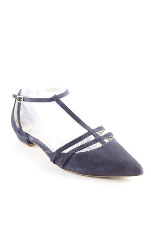 Boden Riemchen-Sandalen dunkelblau Business-Look