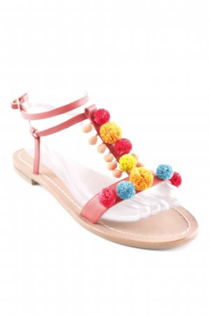 Boden Sandales à lanière multicolore style hippie