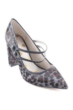Boden Riemchenpumps Leomuster Business-Look