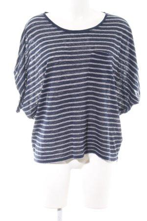 Boden Ringelshirt blau-weiß Streifenmuster Casual-Look