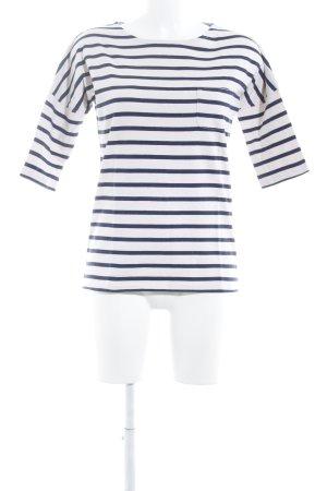 Boden Maglietta a righe blu scuro-rosa pallido strisce orizzontali