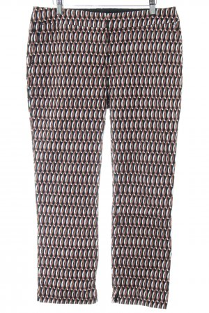 Boden Drainpipe Trousers abstract pattern business style