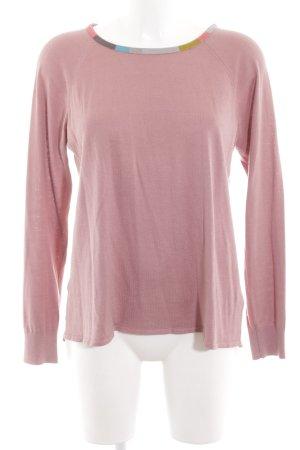 Boden Rundhalspullover pink Casual-Look