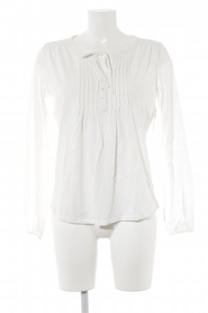 Boden Slip-over blouse wolwit casual uitstraling