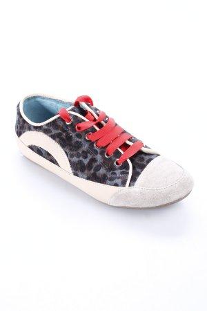 Boden Sneakers met veters luipaardprint dierenprint