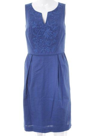 Boden Off the shoulder jurk blauw casual uitstraling