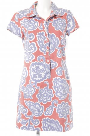 Boden Shirt Dress flower pattern retro look