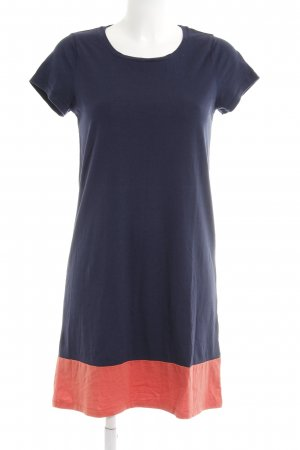 Boden Shirtkleid dunkelblau-lachs Casual-Look