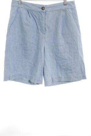 Boden Shorts blassblau-stahlblau meliert Beach-Look