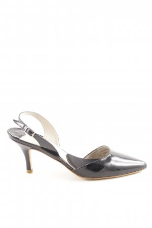 Boden Slingback-Pumps schwarz Business-Look