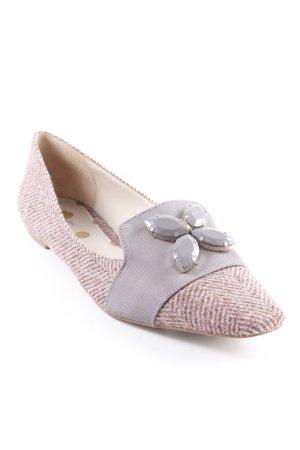 Boden Pantoffels mauve-stoffig roze elegant