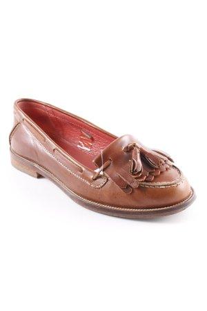 Boden Pantoffels bruin dandy stijl