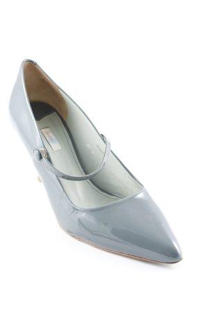 Boden Spitz-Pumps graublau-blassblau Elegant